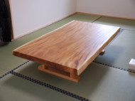 モンキーポッド一枚板 テーブル