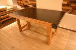 ウエンジ一枚板テーブル
