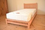 無垢のオーダーベッド
