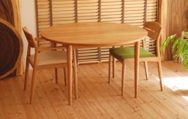 天然木・無垢のオーダーテーブル