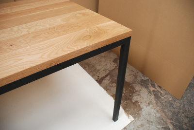 天然木・無垢×アイアンテーブル