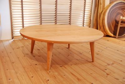 ブラックチェリー リビングテーブル