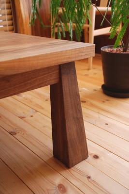 天然木・無垢・リビング・ローテーブル