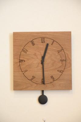 ホワイトオーク振り子時計