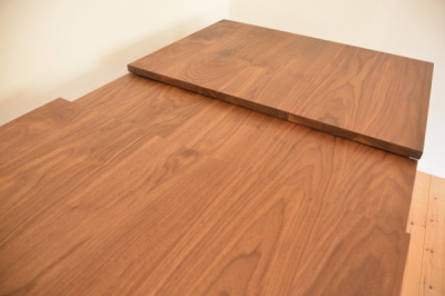 無垢のエクステンションテーブル