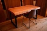 無垢オーダー家具・チェリー一枚板テーブル