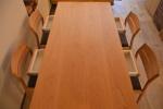 無垢オーダー家具・無垢ダイニングテーブル