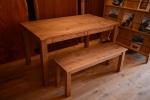 無垢オーダー家具・アンティークテーブル