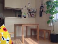 オークダイニングテーブル・ベンチ