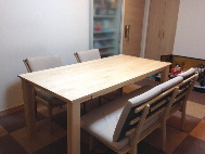 メープルダイニングテーブル