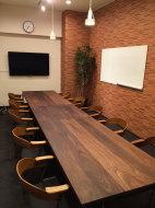 無垢ウォールナット会議用テーブル