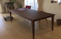 無垢ウォールナットテーブル02-2