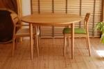 無垢テーブル//無垢オーダー家具/無垢オーダーテーブル|丸テーブル