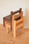 無垢のオーダー子供椅子