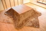 無垢こたつ|無垢オーダー家具|ウォールナット材