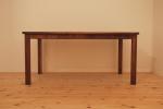 無垢テーブル/ウォールナット/無垢オーダー家具/無垢オーダーテーブル/九州/福岡/久留米市