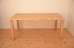 無垢テーブル//無垢オーダー家具/無垢オーダーテーブル|耳付き天板クリ材