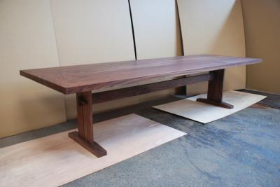 w3000ウォールナットテーブル
