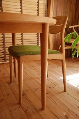 天然木・無垢・円卓・円テーブル・サークルテーブル