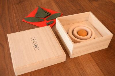 天然木・無垢の木の鏡餅