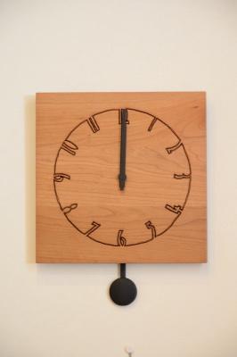 天然木・無垢 振り子時計