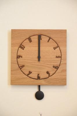 天然木・無垢振り子時計