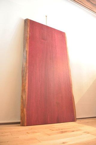 パープルハート一枚板(2枚接ぎ)