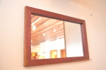 無垢人気壁掛け鏡(ミラー)