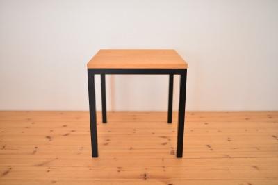 無垢アイアン椅子
