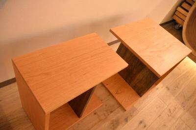無垢ソファテーブル