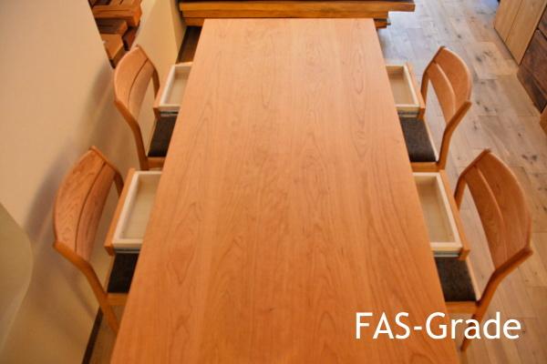 木材種類グレ-ドFAS