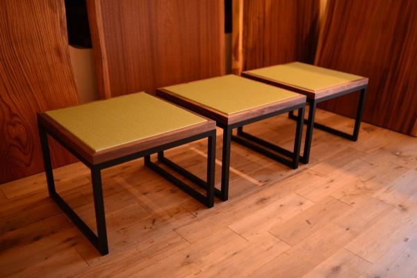 無垢オーダー家具・畳スツール