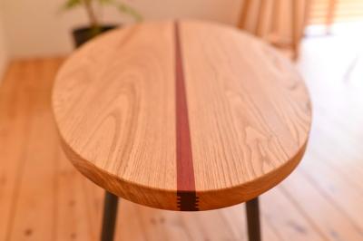 インダストリアル 無垢ローテーブル02