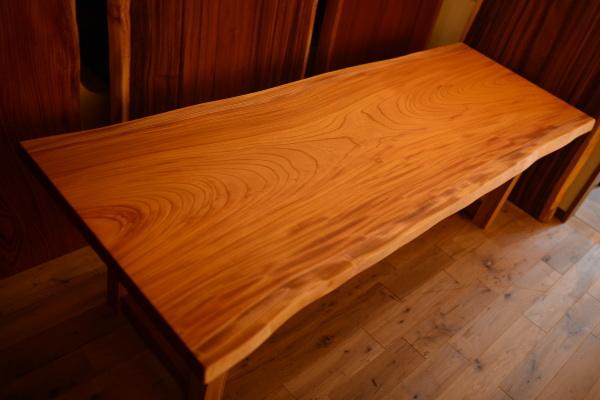 無垢オーダー家具欅一枚板