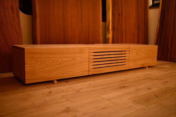 無垢オーダー家具無垢テレビボード