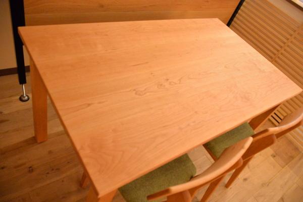 無垢テーブル&チェア(チェリー)