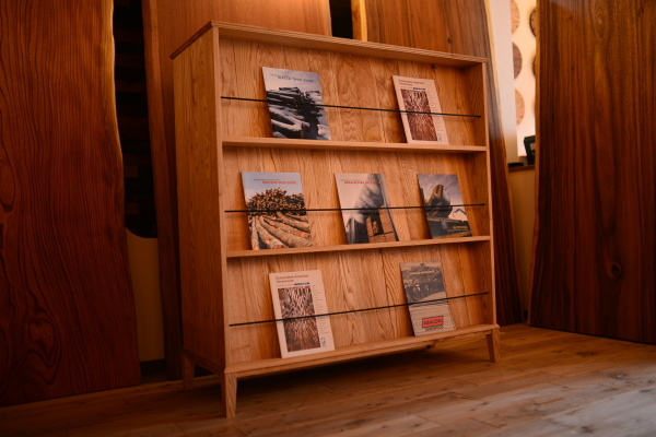 無垢オーダー家具・ブックシェルフ本棚