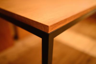 無垢アイアンテーブル