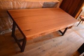 マホガニー一枚板テーブル