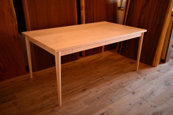 無垢メープルテーブル