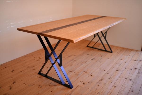 アイアン脚テーブル