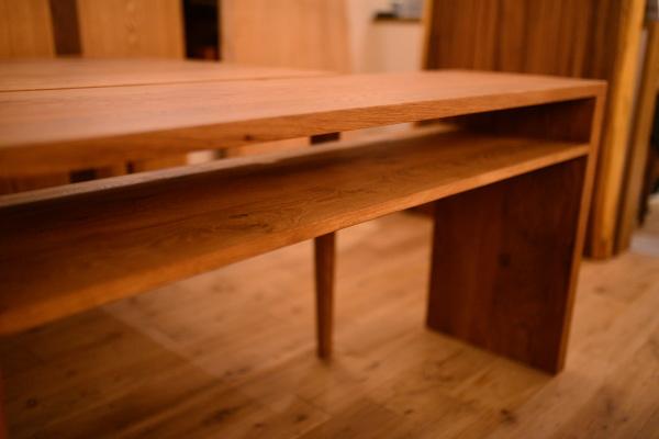 無垢オークテーブル