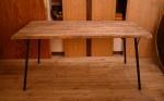 無垢男前テーブル