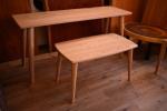 無垢テーブル(トノー型)