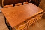 欅一枚板テーブル