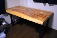 ベリー一枚板テーブル01