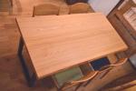 楡一枚板テーブル